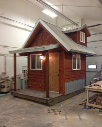 Park model homes tiny houses in alaska for Home builders alaska